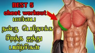 chest workout in Namo Try Tamil