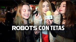"""Saber y Potar. """"Robots con tetas"""" (Fiesta Salamanca)"""