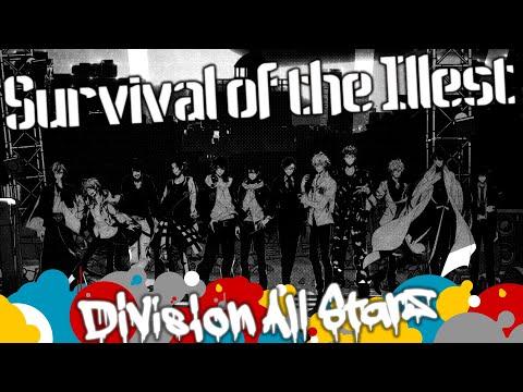ゲームアプリ「ヒプノシスマイク -Alternative Rap Battle-」OP曲『Survival of the Illest』