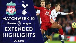 Liverpool V. Tottenham | Premier League Highlights | 10/27/19 | Nbc Sports