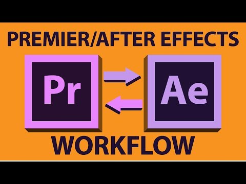 Adobe Premiere Pro to After Effects Workflow - Tutorial