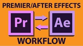 Adobe Premiere Pro zu After Effects Workflow - Tutorial