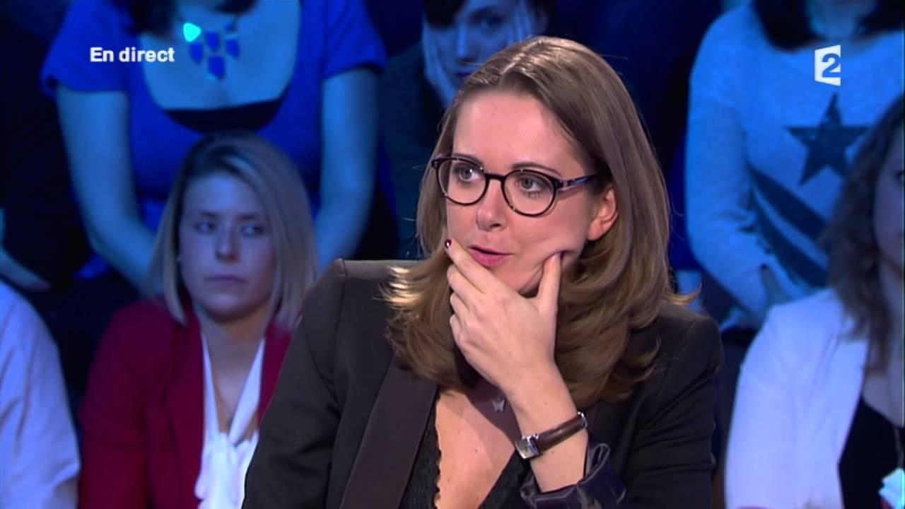 Charline Vanhoenacker du 5/7 de France Inter - On n'est pas couché - 1er mars 2014 #ONPC