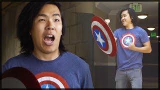 If I Had Captain America's Shield