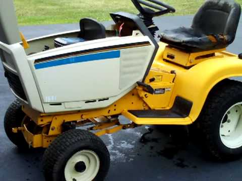 Cub Cadet 1641 All Cleaned Up Youtube
