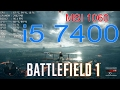Проц i5 7400 + MSI 1060 6GB in Battlefield 1 part2