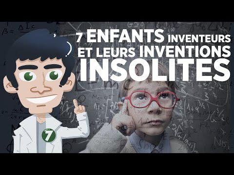 7 enfants inventeurs et leurs inventions insolites