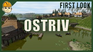 Ostriv (First Look) New Banished Style City-Builder - Let's Play Ostriv Gameplay