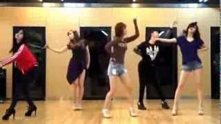EXID   Every Night mirrored Dance Practice
