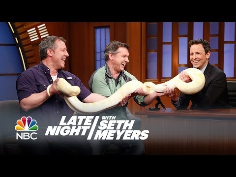 Exotic  Animals, Seth and the Kratt Brothers - Late Night with Seth Meyers