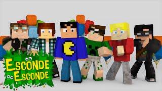 Minecraft: MELHORES MOMENTOS! (Esconde-Esconde)
