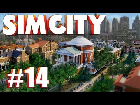 Let's Play SimCity (2013) - Ep. 14: CONCENTRATED SOLAR ARRAY