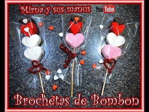 Diy Brochetas de Bombones Diy marshmallow pops  YouTube