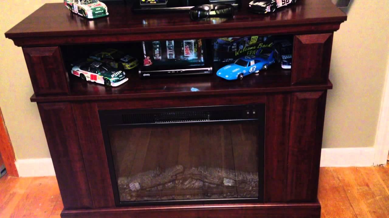 Whalen Fireplace console TV Entertainment Center ...