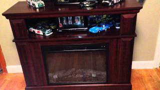 Whalen Fireplace Console Tv Entertainment Center - Customer Review Walmart