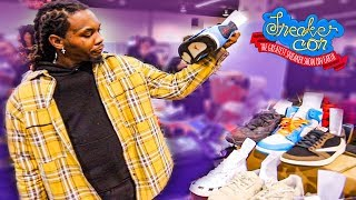 Sneaker Shopping With Offset At SNEAKER CON LA (Anaheim)