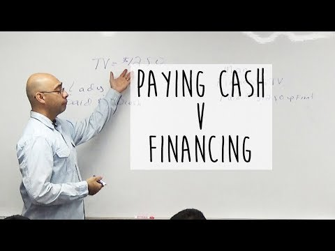 Financing v Paying Cash || Why Cash is King