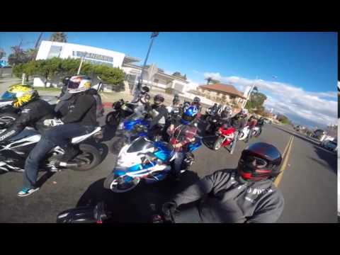 2014 SD Christmas Ride Cali Camera SanDiego Riders SD BikeLife