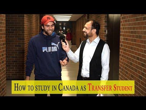 How To Study As Transfer Student In Canada - Amjad Saleem