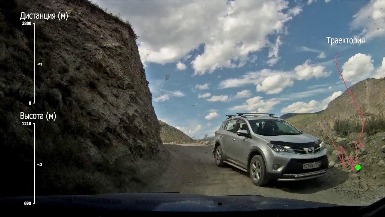 Перевал Кату-Ярык. Подъём - YouTube