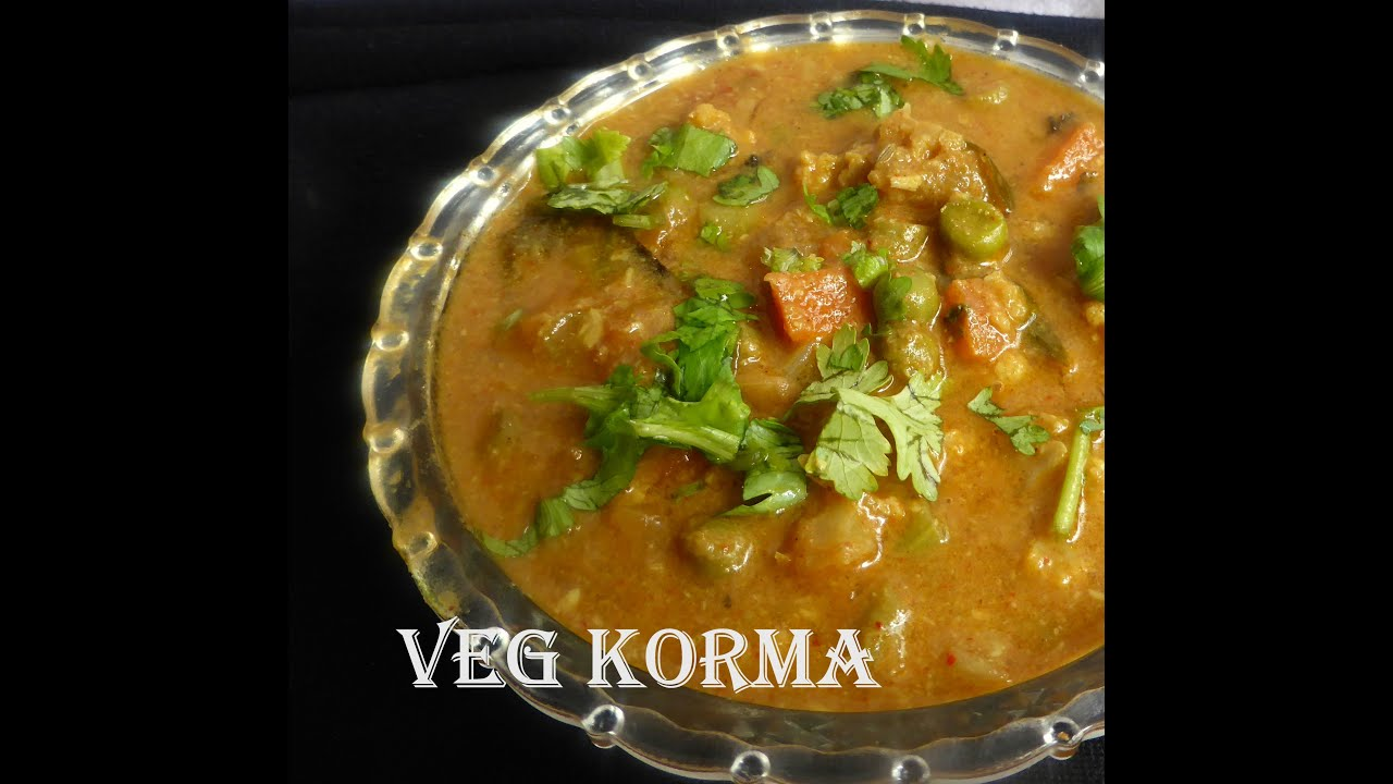 Hotel style veg korma for paratha in tamil youtube forumfinder Gallery