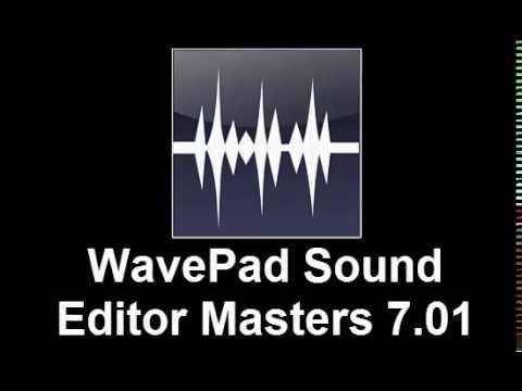 Download WavePad Sound Editor Masters 7.01