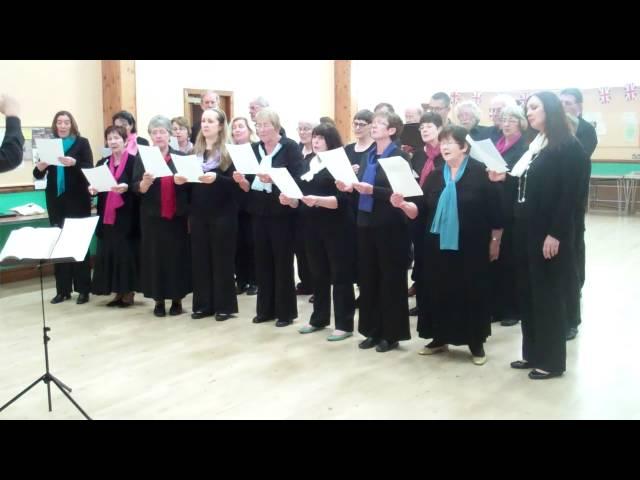 Crosby Capriol Singers- Cheddar, via Jerusalem