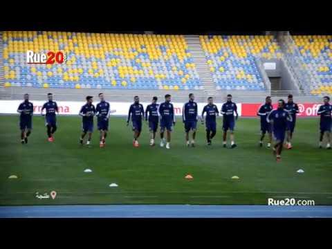 تدريبات المنتخب الأرجنتيني بملعب طنجة بحضور 'ديبالا' وباقي النجوم