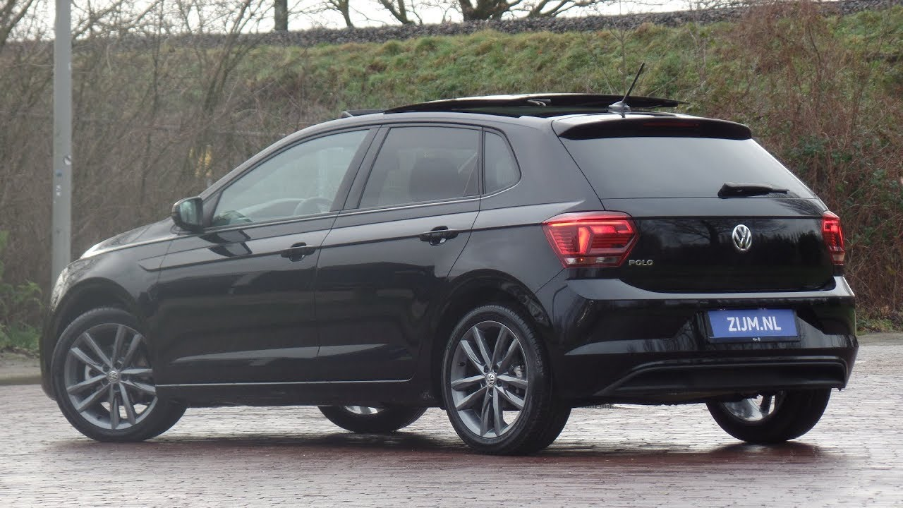 Volkswagen NEW Polo Highline 2019 Deep Black Pearl 17 inch ...