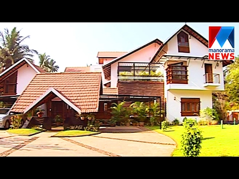 Sahar mixed style beautiful house veedu old episode for Manorama veedu photos