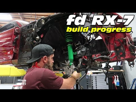 REFINISHING THE RX-7's 25 YEAR OLD SUSPENSION...THE MICKEYSPEC WAY!