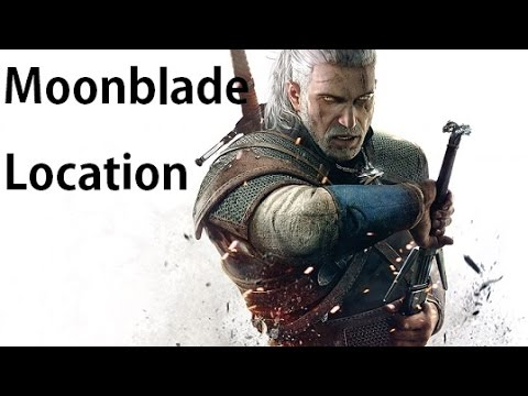 The Witcher 3 - Moonblade Rare Sword Relic Location - YouTube