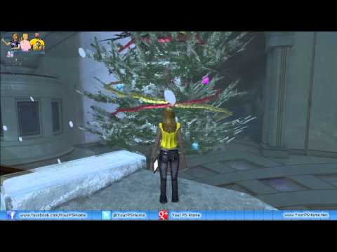 PlayStation Home Personal Space Tour - Snow Globe Apartment