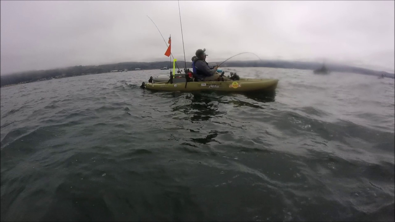 Salmon hmb fishing youtube for Half moon bay fishing report