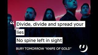 Bury Tomorrow - Knife Of Gold (live)