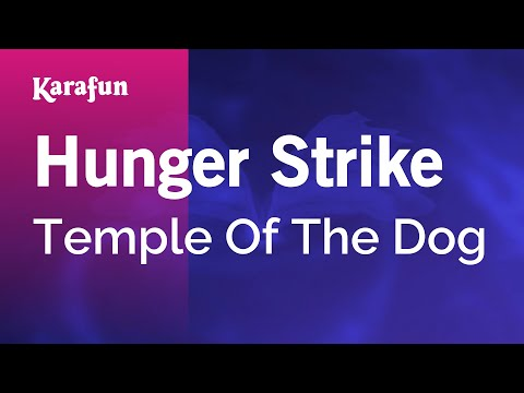 Karaoke Hunger Strike - Temple Of The Dog *