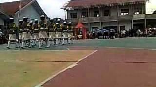 Mojang Sunda PASKIBRA SMPN 1 Cileunyi beraksi LKBB CEXO