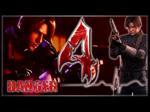Resident Evil 4 Life in Danger (Vida no Vermelho) #1 Leon Kennedy R.P.D. RE2 Remake.