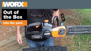 WORX Cordless Chainsaw | Out of the Box