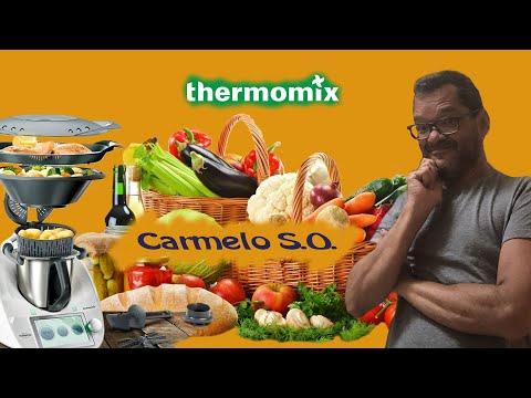 Salmón en piriñaca-Thermomix