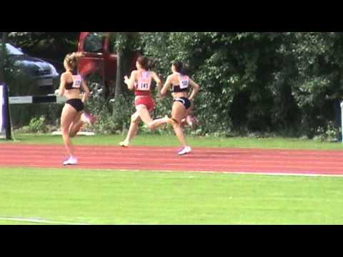 Deutsche Junioren Meisterschaften Regensburg - 400m  women  heat 1 - Lauf 1