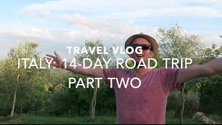 ITALY ROAD TRIP VLOG: PART TWO - ROME TO TUSCANY