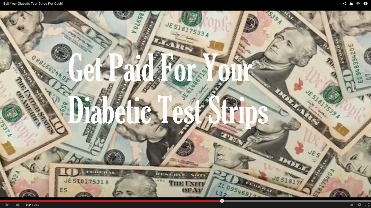 Sell Your Diabetic Test Strips For Cash Avg Payout 150 Youtube