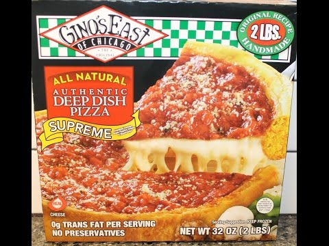 Gino's East of Chicago: Supreme Deep Dish Pizza Review