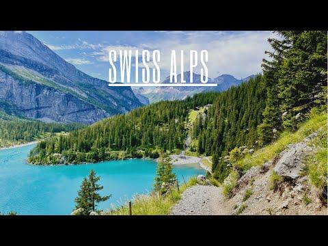 Hiking in the Swiss Alps 🇨🇭   Switzerland ⛰   Beautiful Swiss Alps Views