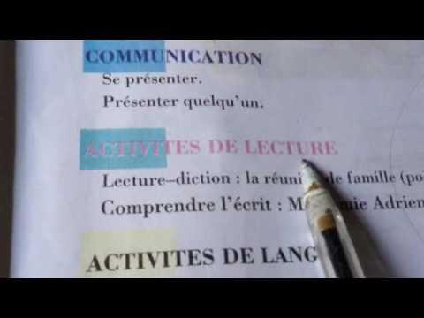 Francais 4 Eme Annee Primaire L 1
