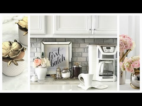 NEW! DIY Coffee Station Canisters