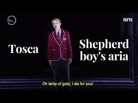 Tosca Shepherd boy | Aksel Rykkvin (14y boy soprano)