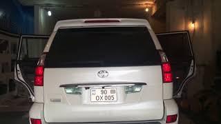 Выдвижные электрические шторки для Toyota Prado 120