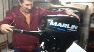 Лодочный мотор Марлин 9.9 л.с(Marlin 9.9)(Распаковка.Первые впечатления. Впереди обкатка., 2014-09-08T17:22:30.000Z)